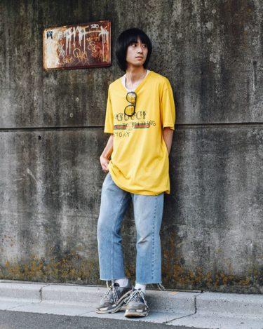【メンズ】ロゴTシャツを使ったコーディネートをファッションブロガーが紹介!