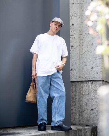 【メンズ】白無地Tシャツのトレンドコーデをファッションブロガーが紹介!
